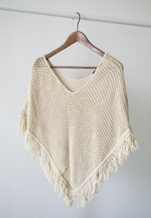clothes fashion poncho