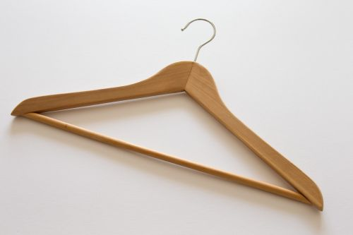 clothes hanger traditional beech wood