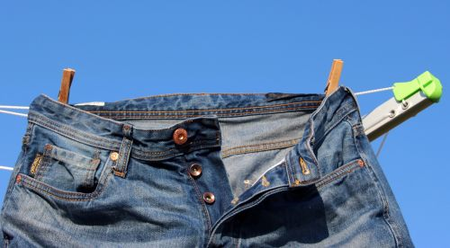 clothes line jeans pants