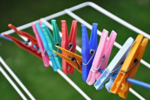 clothes peg rack drying rack