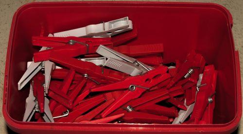 clothes peg terminal clip