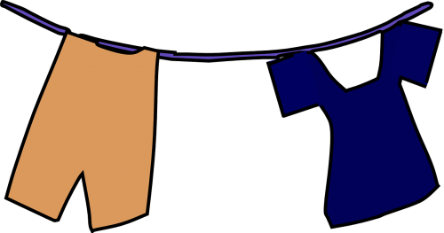 clothesline laundry hang