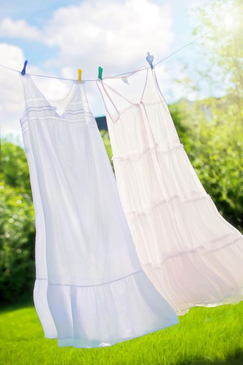 clothesline summer nighties