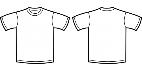 clothing template shirt