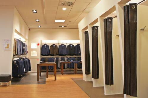 clothing shop jacket