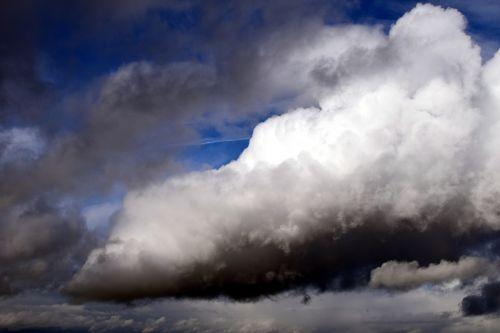 cloud thundercloud sky