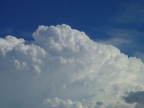 cloud white cotton