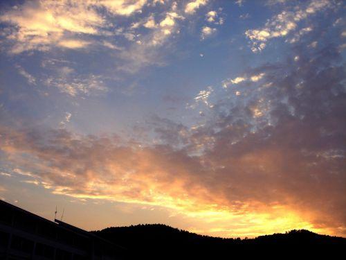 cloud twilight campus