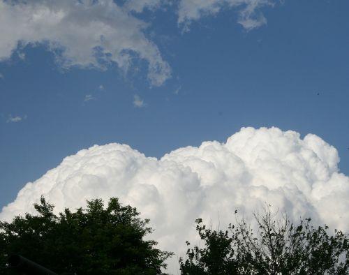 cloud large white