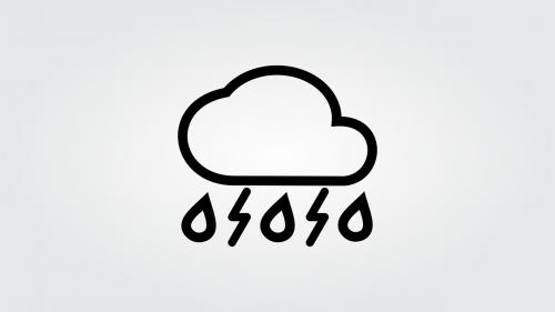 cloud rain radius