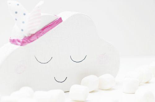 cloud marshmallows white