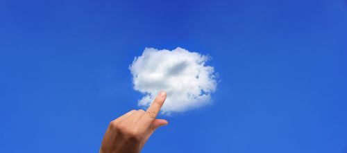 cloud finger touch