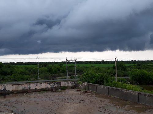 cloud rain black
