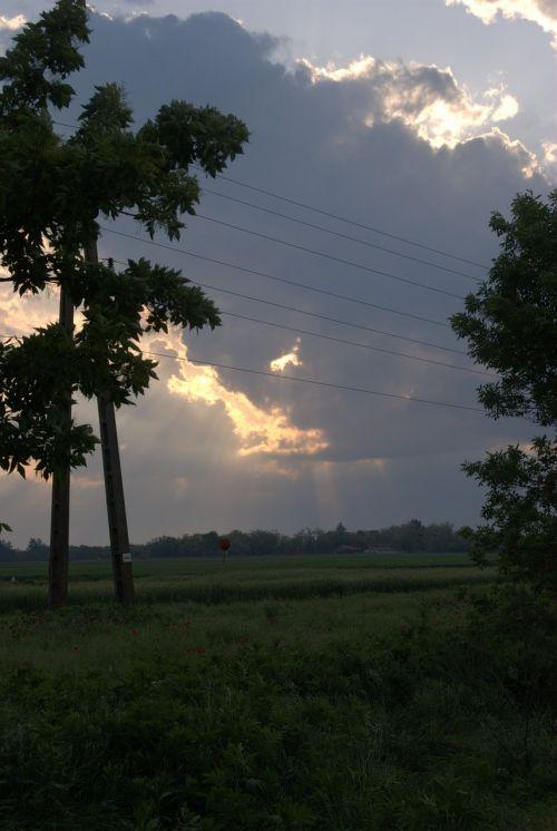 cloud colors shadows
