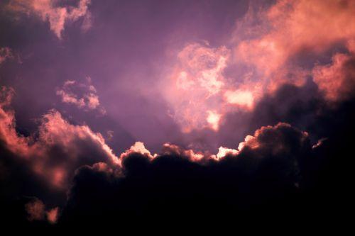 cloud cumulus fluffy