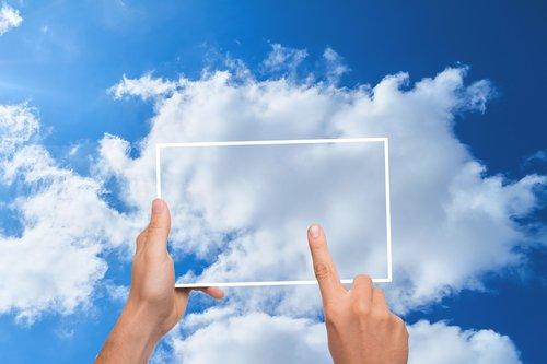 cloud  finger  tablet