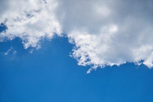 cloud  blue  white