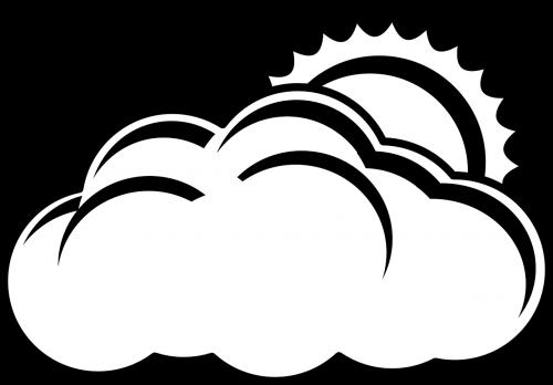 cloud sun overcast