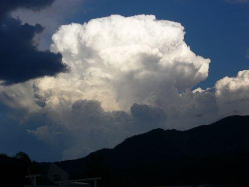 cloud cumulus thundercloud