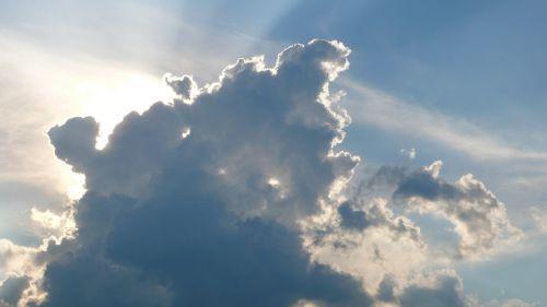 cloud god sky