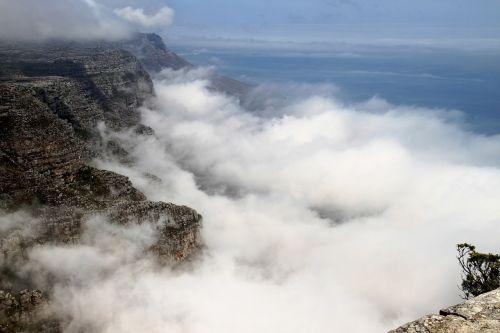 cloud cliff sky