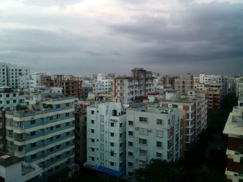 cloud sky dark
