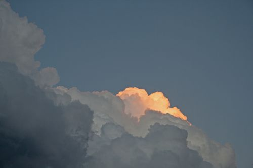 Cloud With Glowing Edge
