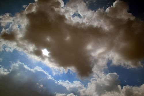 clouds sky miracle