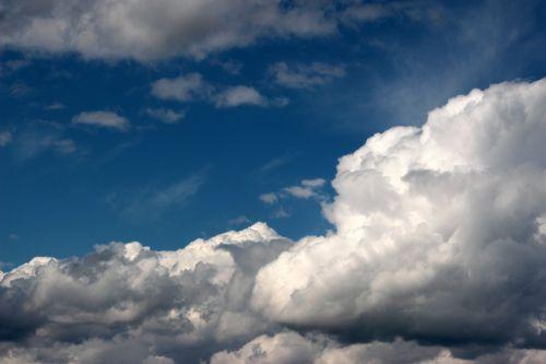 clouds cloudscape sky
