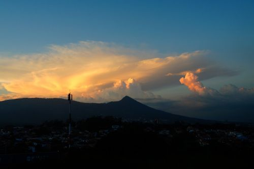 clouds city san salvador