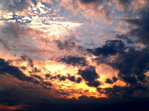 clouds cloudy sky