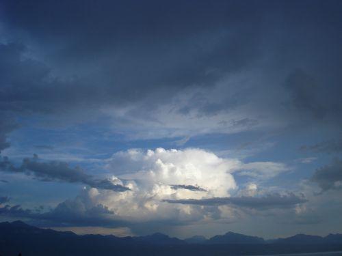 clouds light sky