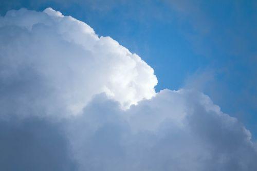 clouds sunny blue sky clouds