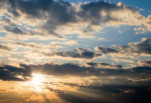 clouds sun sky