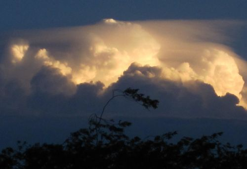 clouds solid cumulus