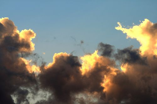 clouds loose light
