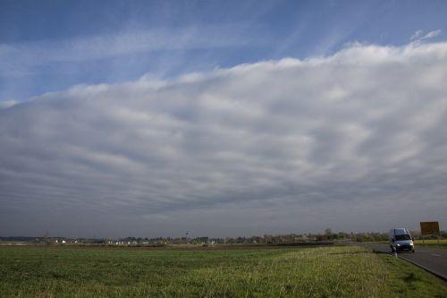 clouds wolkenwand nice weather