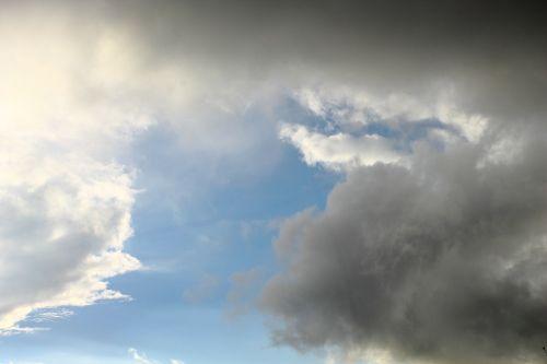 clouds storm rain