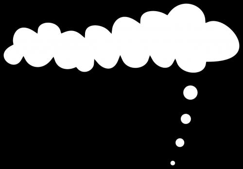 clouds white symbol