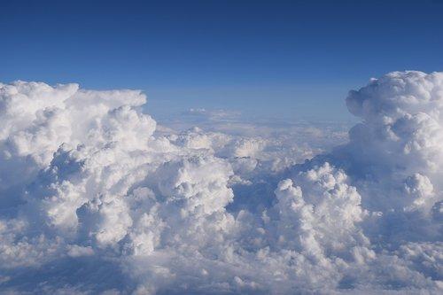 clouds  flight  air travel