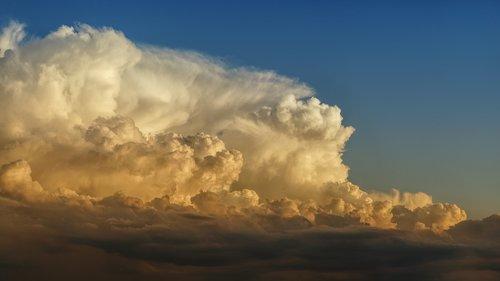 clouds  weather  cumulus
