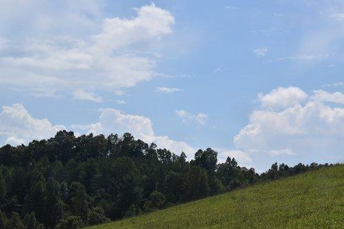 clouds  farm  kentucky