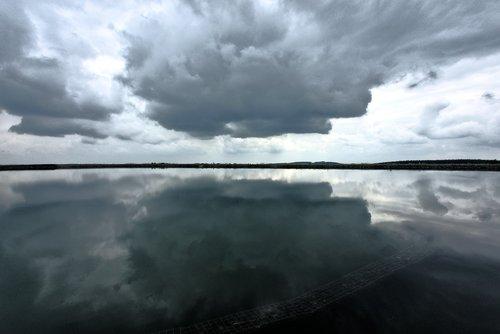 clouds  water  sky