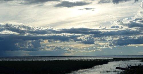 clouds  summer  sun