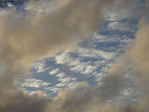 clouds sky clouds form