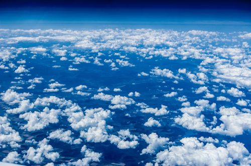 clouds sky the height of the