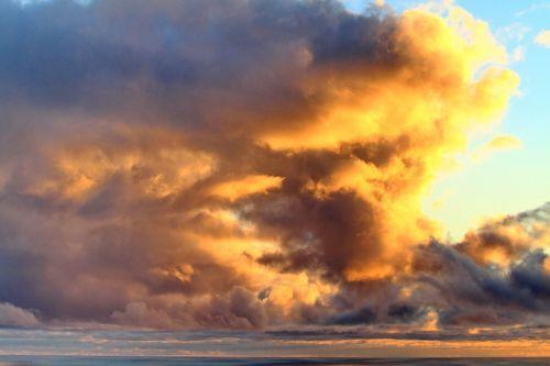 debesys,saulėlydis,jūra,papludimys,spalvos,la palma,prekinis ženklas,sala,kalnai,kraštovaizdis,dangus