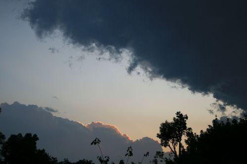 clouds dark edged gilt