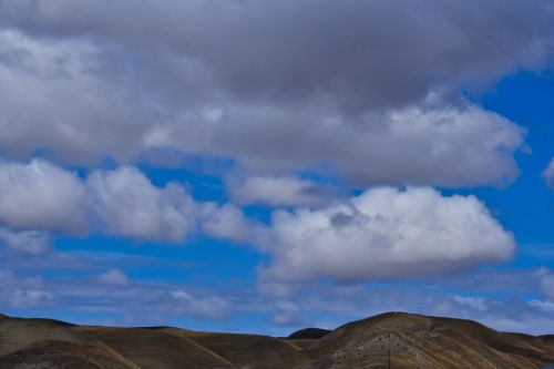 Clouds Over Hills