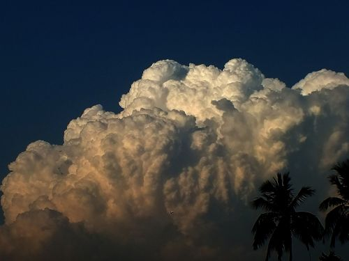 cloudscape from my roof top kolkata